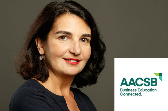 Delphine Manceau joins the prestigious AACSB international accreditation body