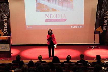 NEOMA BS hosts the 2017 ENACTUS ECLOSION seminar