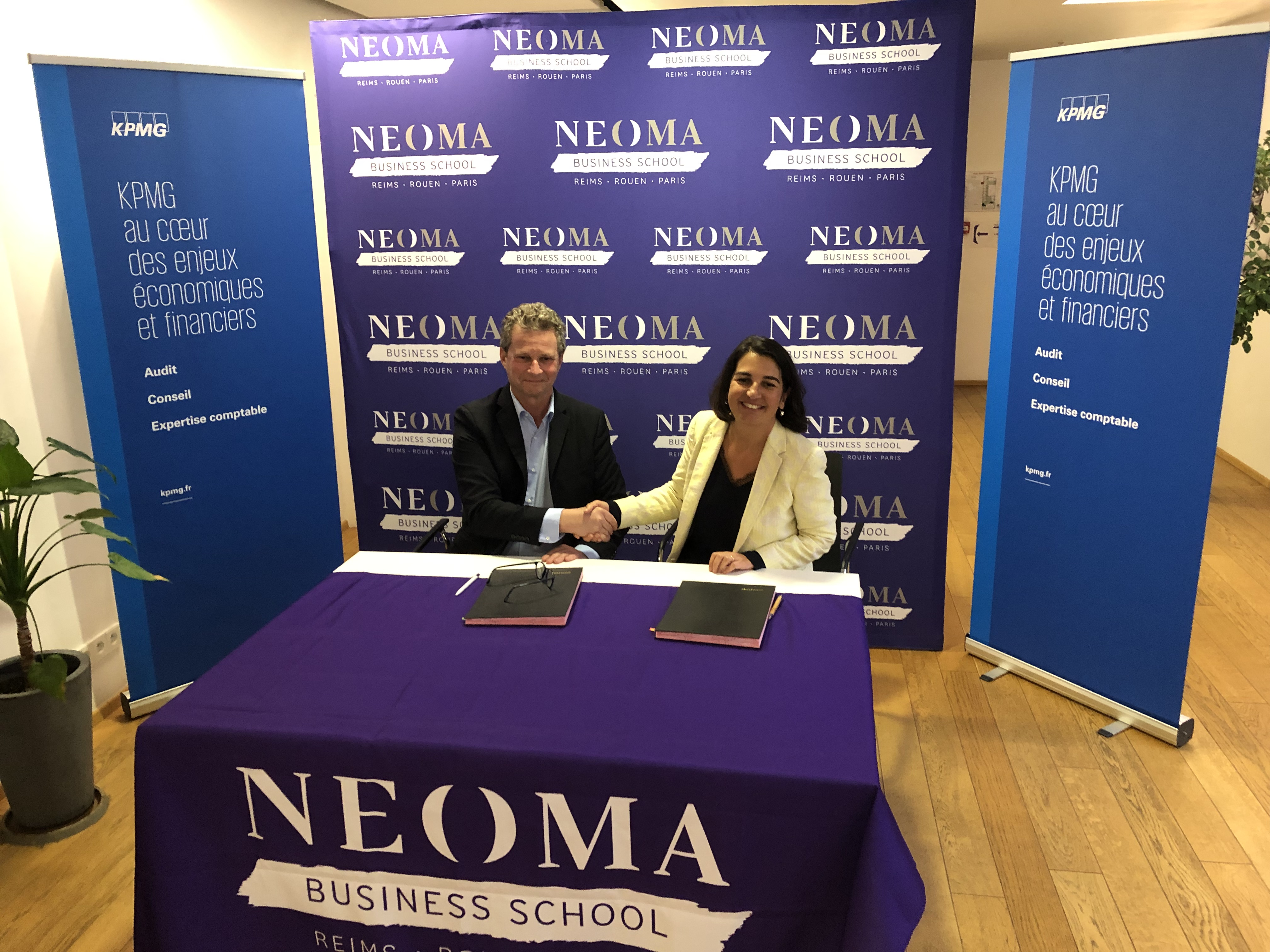 KPMG-NEOMA BS partnership: going even further