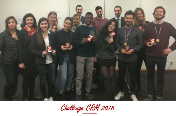 Challenge CRM 2018: advanced master's students on the hunt for Muesli Lovers!