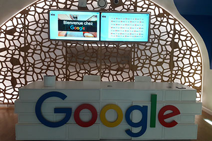 Marketing and Data Analytics Advanced Masters students visit Google
