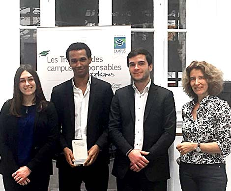 The Prépa'Rémois association is given the Campus Responsable award for its PHARES programme working with disabled youth