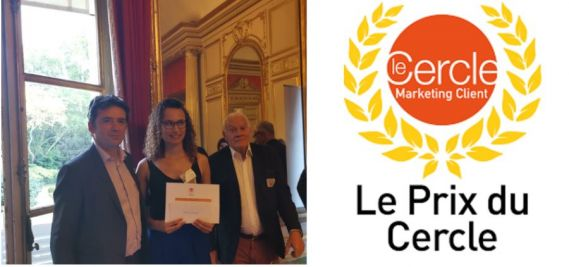 A NEOMA Student awarded the 2019 Prix Spécial by The Cercle Marketing Client !