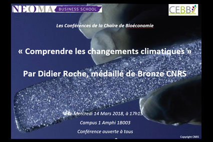 Understanding Climate Change: NEOMA Business School Chair in