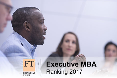 Ranking « Top 100 Executive MBA programmes » - FT : NEOMA BS in 81st position.