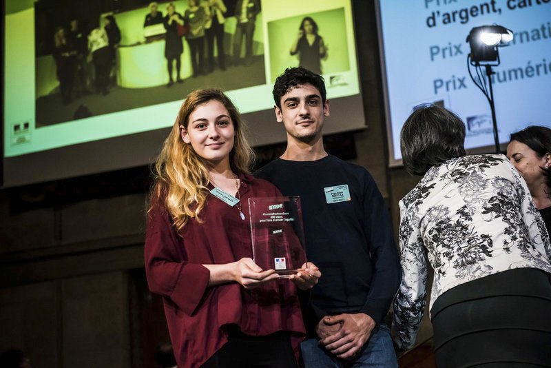 "HE FOR SHE – NEOMA BS Reims wins an award at the event ""400 ideas to promote equality"""