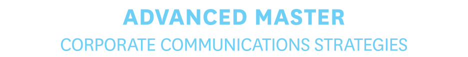 ADVANCED MASTERS - Corporate Communications Strategies