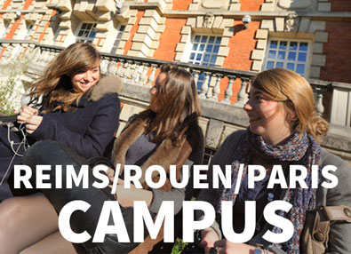 Campus in France Paris Rouen Reims